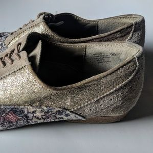 """Sperry Shoes - Naughty Monkey """"Prints Charming"""" Taupe Oxfords (6)"""